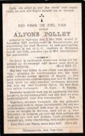Halewijn, Halewyn, Nieuwenrode, Menen, 1924, Alfons Pollet, - Images Religieuses