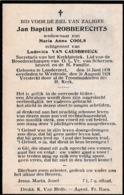Londerzeel, Westrode, 1928, Jan Robberechts, Cools, Van Caesbroeck - Devotion Images