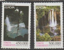 Turquie Europa 2001 N° 2989/ 2990 ** L'eau - 2001
