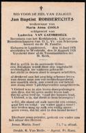 Londerzeel, Westrode, 1928, Jan Robberechts, Cools, Van Caesbroeck - Images Religieuses
