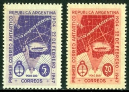 ARGENTINA 1947 ANTARCTIC CLAIMS** (MNH) - Unused Stamps