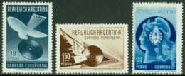 ARGENTINA 1939 PHONOGRPH RECORDS POSTAL SERVICE* (MH) - Neufs