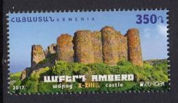 17.- ARMENIA 2017 EUROPA 2017 CASTLES - 2017