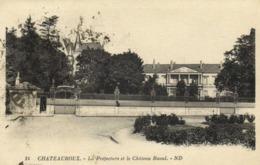 CHATEAUROUX  La Prefecture Et Le Chateau Raoul RV - Chateauroux