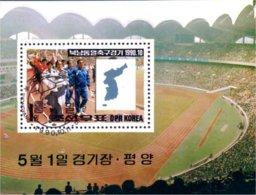 Korea Soccer Football Italia 90 (A53-61a) - Corée Du Nord