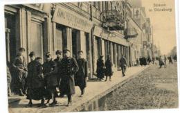 Feldpost 1918 - Dünaburg - Daugavpils -carte    Allemande  (1914-1918) - Guerre 1914-18