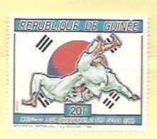REPUBLIQUE DE GINEE 1988 - Judo