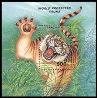 Tanzania Tiger Tigre MNH ** Neuf SC (A53-522c) - Roofkatten
