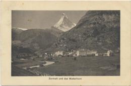 70-37 Helvetia Schweiz Switzerland Suisse Zermatt Matterhorn - Zonder Classificatie