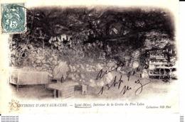 89 . Yonne : Saint Moré : Intérieur  De La Grotte Du Pere Leleu . - Other Municipalities