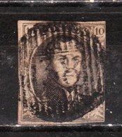 6 (ou 10)  Médaillon Non Dentelé - Oblit. D38 NANDRIN - LOOK!!!! - 1851-1857 Medallions (6/8)