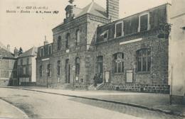 Gif Yvette Mairie Ecoles Envoi à Richer Instituteur St Julien Sur Sarthe Par Le Meslé Orne - Gif Sur Yvette