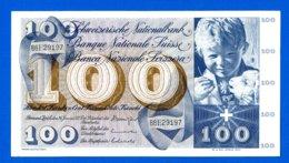 100 Fr  Du  24/ 1/1972 - Zwitserland