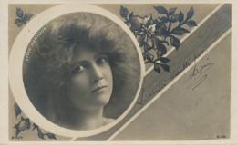 Actrice Effer Hamilton Beau Visage Art Nouveau Envoi Au Chene Par Mervans 71 Affranchissement 5 Timbres Type Blanc - Autres Communes
