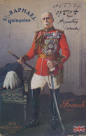 Argentan  Cachet Guerre 1914  32 Eme Infanterie  Pub St Raphael Quinquina  General French Eugene Pirou - Argentan