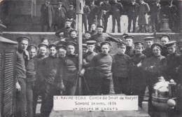 Le Navire-Ecole Comte De Smet De Naeyer - Sombré En Avril 1906 - Un Groupe De Cadets - Ecoles