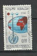 Marokko Marocco 1964 Michel 533 Welttag D. Meteorologie O - Klima & Meteorologie