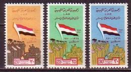 B0371 - LIBYA LIBYE Yv N°371/73 ** REVOLUTION - Libye