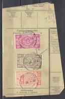 Fragment Met Brugstempel Sombreffe - 1923-1941
