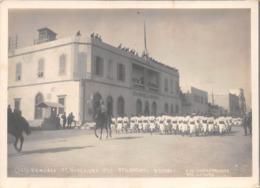"""09538 """"BENGASI-LIBIA-11/11/1913 - FILAMENTO SCARI FRONTE PAL. GOVERNO CIRENAICA - FOTO CHIARAMONTE"""" ORIG. - Africa"""