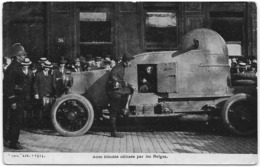 14-18 - ARMEE BELGE : Auto Blindée - Belle Animation - 1914 - Guerre 1914-18