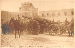 """09539 """"BENGASI- LIBIA - CIRENAICA - RIVISTA DI SAN MARTINO DEL 1914 - CANNONI DA 149"""" ORIG. - Africa"""