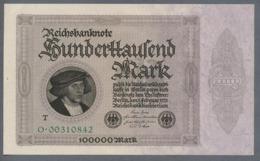 Pick83c Ro82c DEU-83c  100.000 Mark 1923 ** UNC ** - 100000 Mark