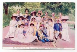 1910s  CCA, MONTENEGRO, ROYAL FAMILY, ILLUSTRATED POSTCARD, MINT - Montenegro