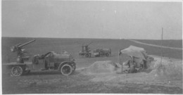 "09541 ""ARTIGLIERIA CONTRAEREA TEDESCA D'ORIGINE NAVALE SU AUTOCARRO - 1917"" ORIG. - Guerra, Militari"