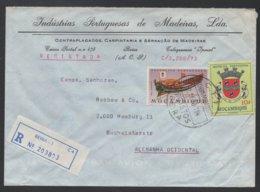 MOZAMBIQUE - BEIRA / 1973 LETTRE RECOMMANDEE POUR L ALLEMAGNE (ref LE177) - Mozambique