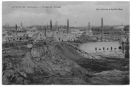 ANTOING : Carrières - Usines De Ciment - 1909 - Antoing