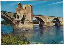 Avignon - Le Pont Saint-Bénézet Et La Chapelle Saint-Nicolas  - (Vaucluse) - Avignon (Palais & Pont)
