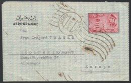 PERSE - IRAN - HAMADAN / 1961 AEROGRAMME POUR L' ALLEMAGNE (ref LE192) - Iran