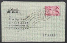 PERSE - IRAN - HAMADAN / 1961 AEROGRAMME POUR L' ALLEMAGNE (ref LE193) - Iran