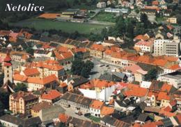 1 AK Tschechien * Blick Auf Die Stadt Netolice (deutsch Nettolitz) - Luftbildaufnahme * - Tschechische Republik