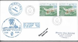 E52 - TAAF PO146x2 Du 12.1.1990 TERRE ADELIE - Cachets De L ' ASTROLABE. - Terres Australes Et Antarctiques Françaises (TAAF)