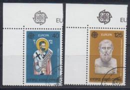 Europa Cept 1980 Cyprus 2v Used (44632B) - Europa-CEPT