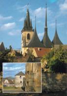 1 AK Tschechien * Die St. Nikolaus-Kirche In Der Stadt Louny - Erbaut 1520 Bis 1538 * - Tschechische Republik