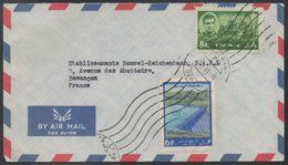 PERSE - IRAN - TEHERAN  / 1963 LETTRE AVION POUR LA FRANCE - BESANCON  (ref LE201) - Iran