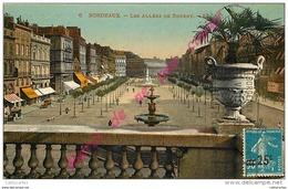 33. BORDEAUX . Les Allées De Tourny .  CPA Colorisée . - Bordeaux