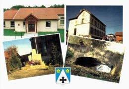 Hellering Les Fénétrange - Salle Polyvalente école Et Mairie Monument Aux Morts Vieux Pont Sur La Bruche - France