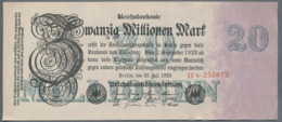 P97 Ro96b DEU-108b. 20 Million Mark 1923 AUNC Pas De Plis - 20 Miljoen Mark