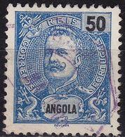 ANGOLA [1898] MiNr 0044 ( O/used ) - Angola