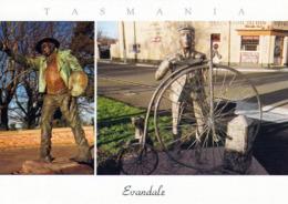 1 AK Australien * Evandale - Eine Historische Stadt Im Norden Von Tasmanien * - Other
