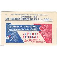 FRANCE -CARNET ANCIEN N°886-C 1 TYPE MARIANNE DE GANDON TIMBRES NEUFS**1951 Côte 250 Euros - Libretti