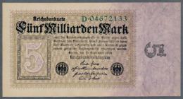 P115 Ro112a DEU-132a. 5 Milliard Mark 10.09.1923 UNC - [ 3] 1918-1933 : República De Weimar