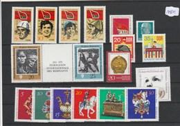 DDR     Posten/Lot   Postfrisch **   MiNr. 1675-1692 - DDR