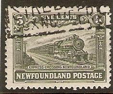 NEWFUNDLAND 1928 5c SG 168 FINE USED Cat £19 - 1908-1947