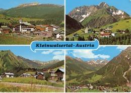 Kleinwalsertal - Austria Mehrbildkarte Ca 1980 - Kleinwalsertal