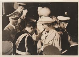 Foto 1939 Staatsbesuch Jugoslawischen Prinzregentenpaares Berlin. Mit Der Führer. - Berühmtheiten